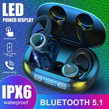 Tws Bluetooth 5.1 Earbuds Headset Wireless Ear Hook Earphones Stereo Headphones