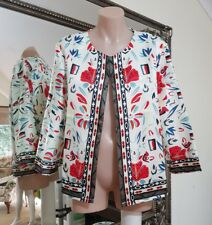NWOTS unlabled jacket.Vibrant light satin.Fab for races over black or white dres