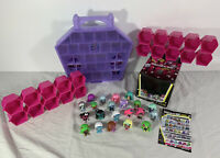Monster High Mini Figure Lot of 21 Collection w/ Case Pink Lockers Original Box