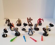 Attacktix Marvel Star Wars Wookie Grievous Clone Pilot Droid Daredevil Lot Of 12