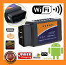 ELM327 WiFi Bluetooth OBD2 Car Diagnostic Scanner Code Reader Tool IOS Android