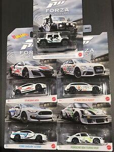 Hot Wheels Forza Motorsport 2020 set Defender AudiRS6 Shelby GT350 Porsche934