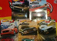 Hot Wheels Fast & Furious Motor City Muscle  Lot 5  ( NG133-134)