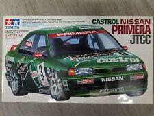 Tamiya 1/24 Nissan Primera Castrol #3 JTCC model kit
