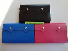 Pu Leather 108 Cards Business Id Credit Card Holder Case Organizer Usa Seller