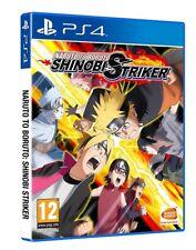 NARUTO TO BORUTO SHINOBI STRIKER PS4 GIOCO PLAYSTATION 4 VIDEOGIOCO ITALIANO