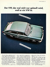 VW-1600-TL-1967-Reklame-Werbung-genuine Advertising - nl-Versandhandel