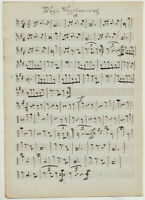 WALZER Vergissmeinnicht NOTEN Musik Handschrift Orig Notenblatt um1790 Schotten