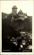 Castle Czech Republic Česká Old AK 1928 Photo Josef švec Castle Castle Fortress Castle