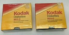 "Vintage New Old Stock Sealed Verbatim Kodak MD2-D 5.25"" Floppies 2 boxes/20 tota"