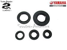 ENGINE OIL SEAL SET for YAMAHA YBR 125, XTZ 125 GENUINE SPARE PART