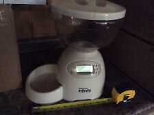 Petmate Infinity Programmable Portion Control Automatic Dog/Cat Feeder Open Box