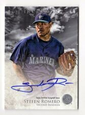 STEFEN ROMERO MLB 2013 BOWMAN INCEPTION PROSPECT AUTOGRAPH (SEATTLE MARINERS)
