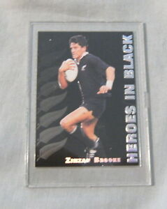 1995 NZ ALL BLACKS RUGBY UNION CARD - H2 ZINZAN BROOKE