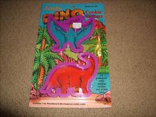 Vintage Jumbo Dinosaur Cookie Cutters New Sealed Pterodactyl & Brontosaurus
