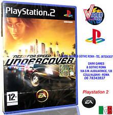 NEED FOR SPEED UNDERCOVER GIOCO NUOVO ITA PS2 ITALIANO