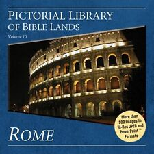Rome, Pictorial Library of Bible Lands CD-ROM *Cost £35*