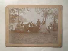 Treptow - 22. October 1893 - Sonntag mit Booten am Wasser / großes KAB