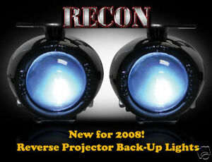 Recon Projector Reverse Back-Up Lights 264150
