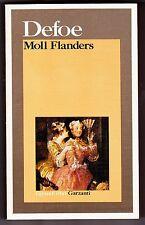 MOLL FLANDERS DEFOE DANIEL REALISMO GARZANTI I GRANDI LIBRI 1985