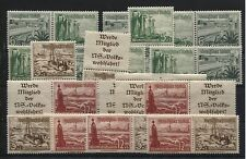 ZD S 244, SK 31,S K 32, W 123-W 126, W 127-W 129, W 131-W 134 pf./ung.(B04248)