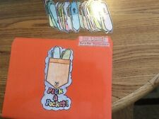 Pick a Pocket! Abc order literacy Centers File Folder Games kindergarten