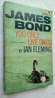 JAMES BOND 007 YOU ONLY LIVE TWICE BY IAN FLEMING 1ST/2ND PAN S/B 1966 JAPAN