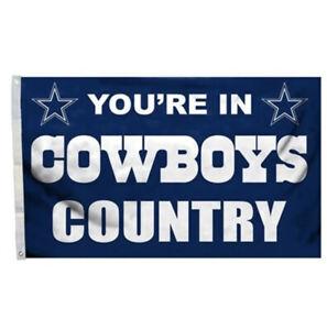 Dallas Cowboys Flag Banner 3x5 Ft NFL Football Super Bowl Sports Game Teams