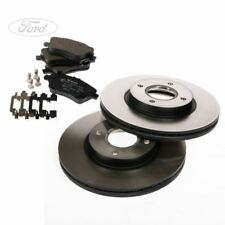 Genuine Ford Fiesta Mk7 1.6 EcoBoost ST Front Brake Pads & Discs 1751584 1848532