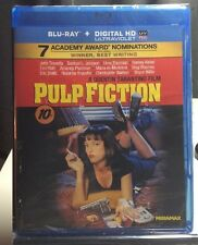 Pulp Fiction (Blu-ray Disc, 2011, Includes HD Digital Code) Brand NEW - Free S&H