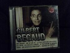 "CD ""GILBERT BECAUD - MES MAINS"" best of 18 titres"