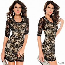 Party Lace Regular Size Dresses for Women
