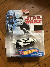 Hot Wheels Character Cars 2017-18 Star Wars Last Jedi First Order Executioner