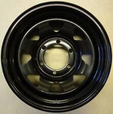 16x7 Black 6 Stud 139.7 PCD -13 Offset CB 110 LR 1200KG Wheels