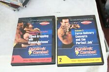 Dvd set 1 & 2 Richard Ryan's Martial Arts, Grappling & Force Delivery