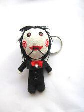 Jigsaw Killer  Voodoo String Doll Keychain Ornament Accessory (handmade)