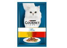 Purina Gourmet Perle Chefs Mini Fillets in Gravy Cat Food 3 x 85g