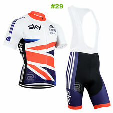 A+ Hot style Cycling Jersey Trouser Bib Short Pants Short Sets Bicycle Wear Suit