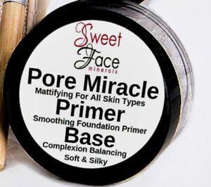 FOUNDATION PRIMER 3oz Gel Infused Matte Pore Eraser Master Prime Face Time Base