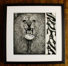 Santana Signed Self Titled (SANTANA) LP