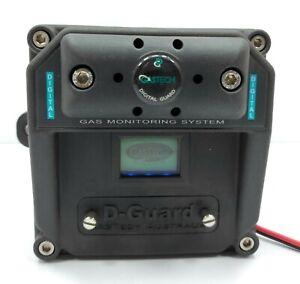 Gas Tech D-Guard Gas Detector DC071528 P.N. 57-1010  S.N.1403