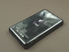Pure black color metal back housing case cover part fr ipod 5th 5.5th video 60GB