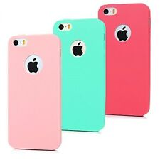 iPhone 5S Case 3 Pieces Soft Rubber TPU Matte Covers
