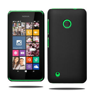 For Nokia Lumia 530 Slim Hybrid Hard Case Clip On Shell Cover & Screen Protector