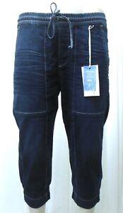 MAC Jeans Slouchy cropped Denim Damen Jeans 3/4 Blau | Größe wählbar!