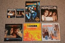 "7 Hanson RARE FINDS!! - Promo CD Backers, Poster, 12"" Promo Album Display Covers"