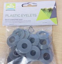 Awning Groundsheet Eyelet Kit - 10 x 12mm self-sealing eyelets