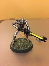 Yellow Gauss Rods Necron Warhammer 40k