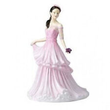 Pink Figurine Boxed Royal Doulton Porcelain & China