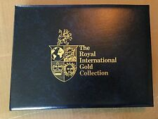 �Postal Stamp Royal International Gold Collection Of 39 Official 1St Day Covers